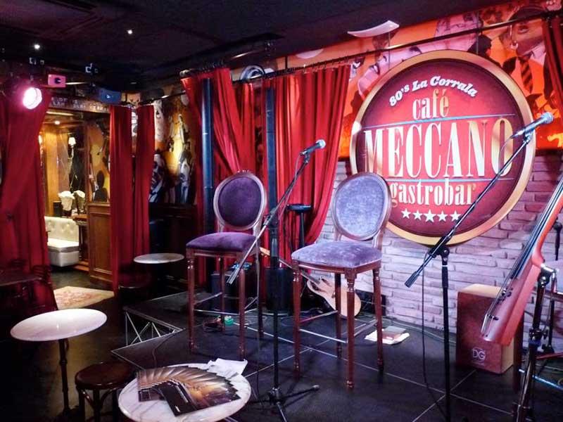 Café Meccano Sillas Vintage